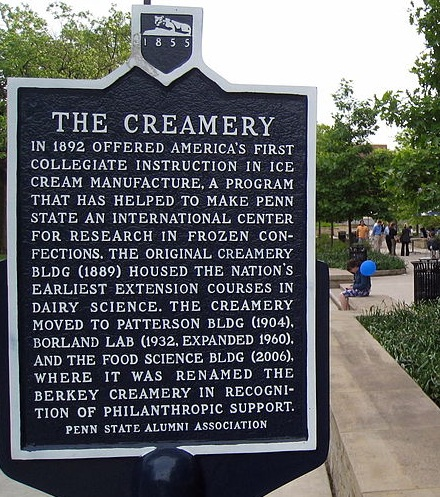 Berkey Creamey Sign