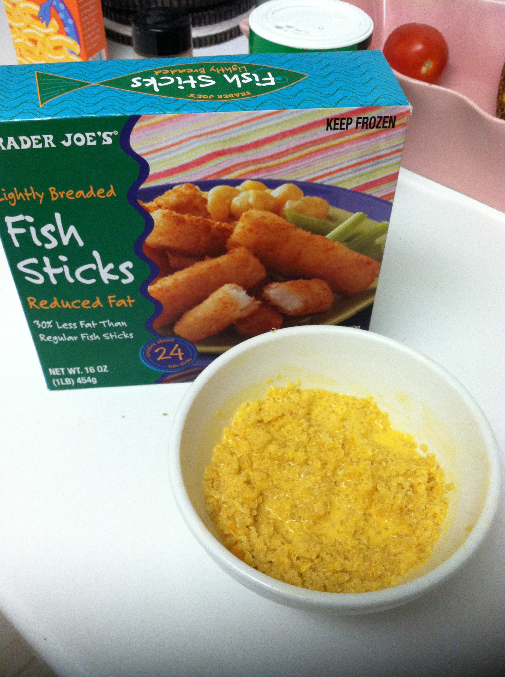 Three tip tuesday compromise the cookie chrunicles for Trader joes fish