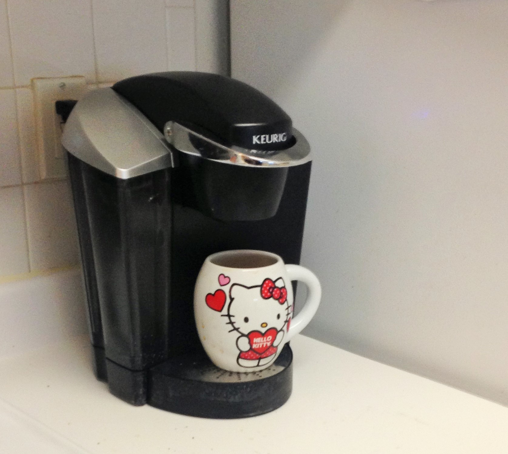 Keurig Coffee Maker Not Ready Blinking : Thinking Out Loud - Cookies, Keurig and Cold Running - The Cookie ChRUNicles