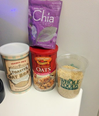 oats and oat bran