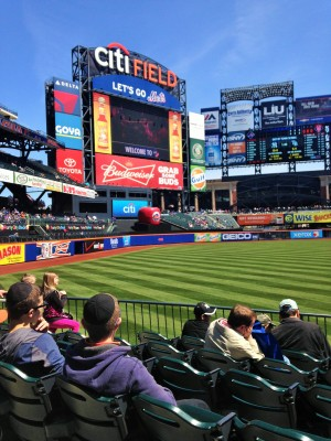Citifield on Easter