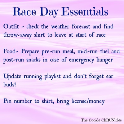 race day essentials