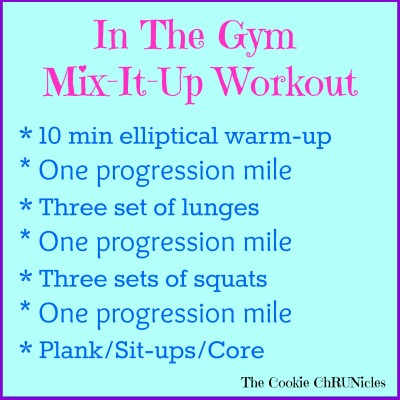 mix it up workout