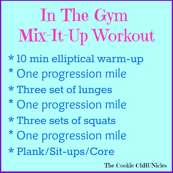 progression interval workout