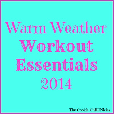 warm weather workout essentials