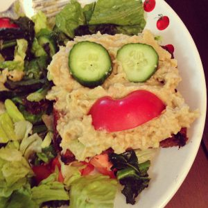 smiley face lunch