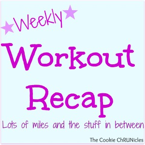 weekly workout recap