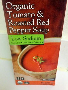 Trader Joe's Roasted Red Pepper Soup