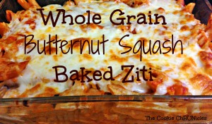 whole grain butternut squash baked ziti