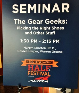 Runner's World Seminar