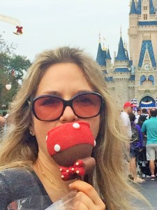 Magic Kingdom Chocolate Covered Apple