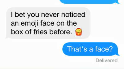 french fries emoji