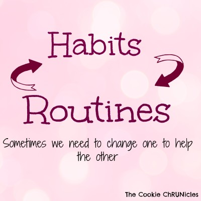 habits and routines