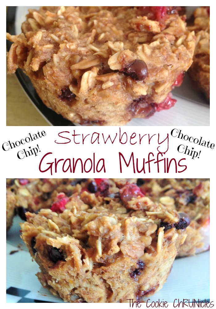 Strawberry Granola Muffins Recipe — Dishmaps