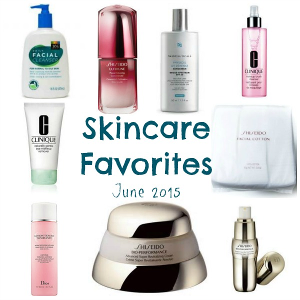 skincare favorites june 2015