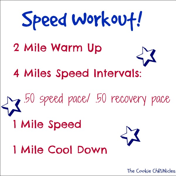 speed workout