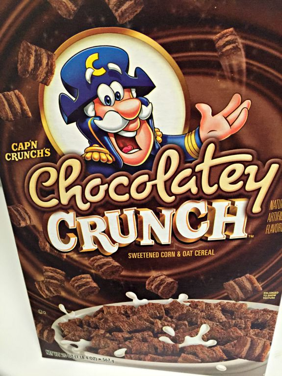 chocolately crunch cereal