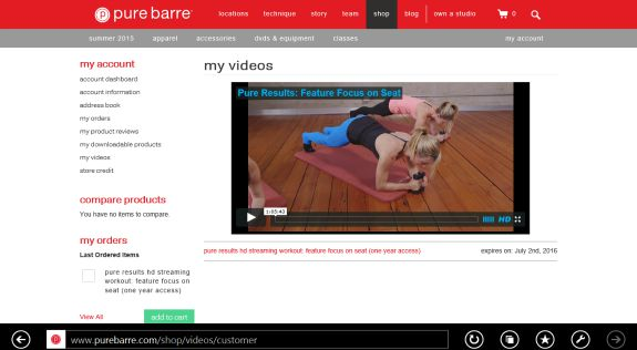 pure barre pure results
