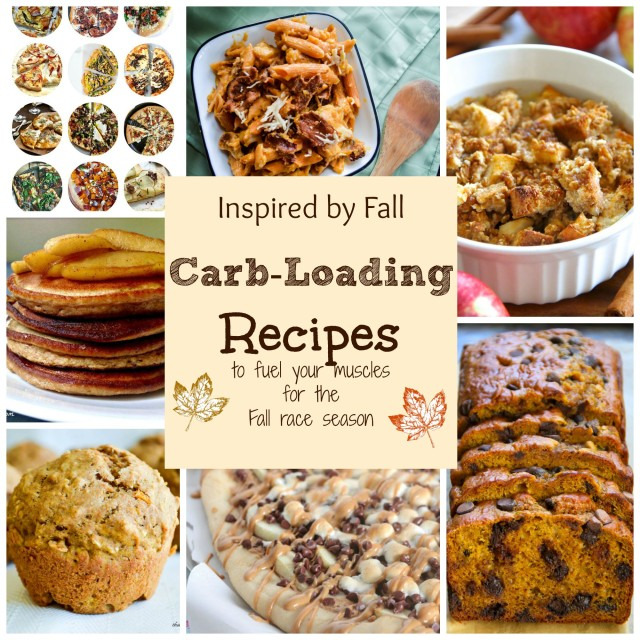 Inspired By Fall! Carb Loading Recipes to fuel your muscles for Fall race season