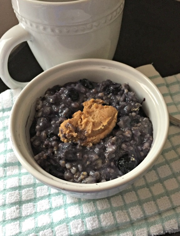 blueberry pie protein oatmeal