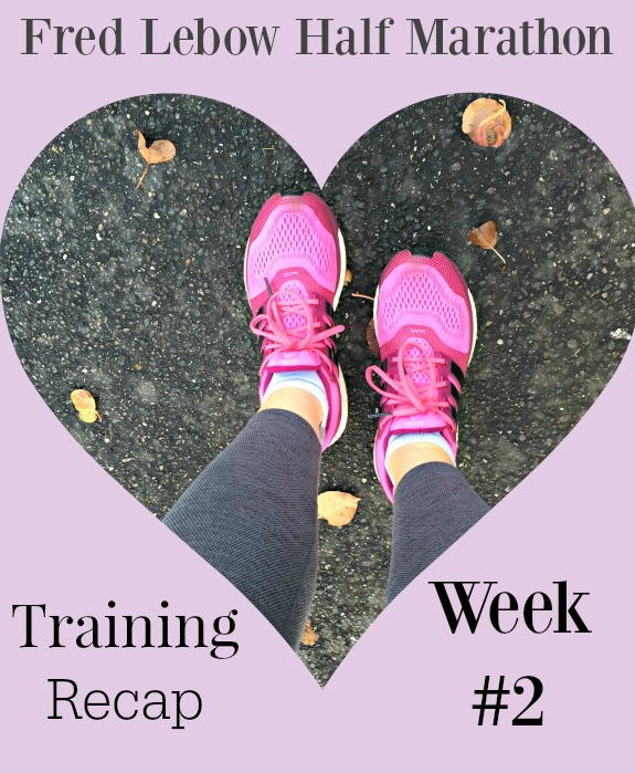 Fred Lebow Half Marathon Training Recap Week #2