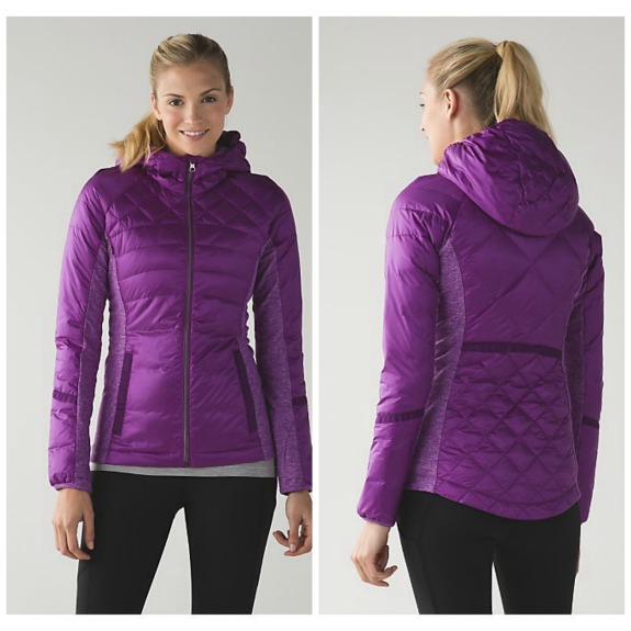 lululemon down for a run jacket
