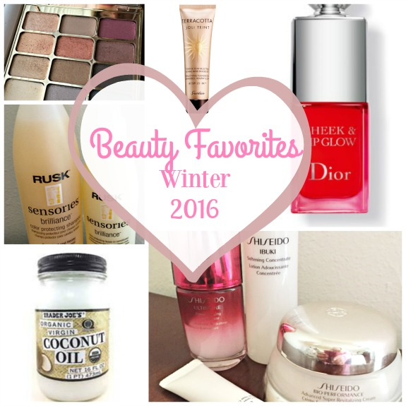 beauty favorites winter 2016