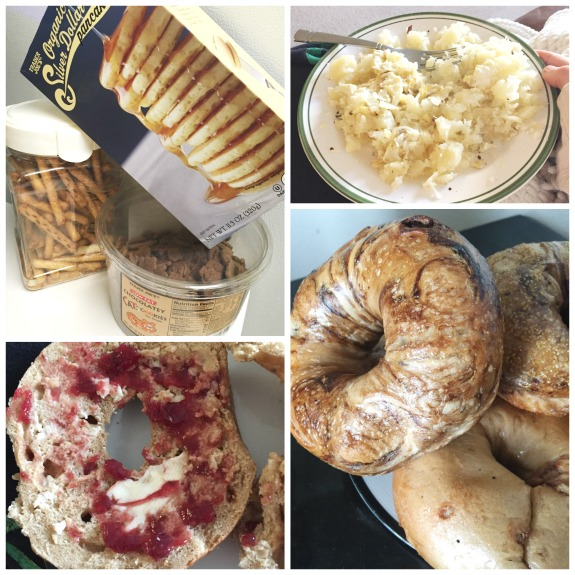 bagels and food while sick