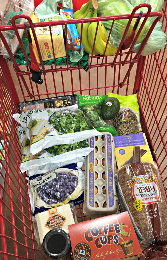 Trader Joe's foods shopping