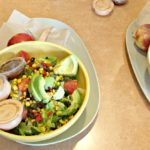 panera salad with a friend