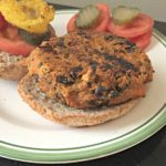 recipe challenge: sweet potato black bean & quinoa burgers