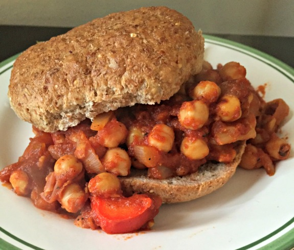 anything goes vegan sloppy joe's