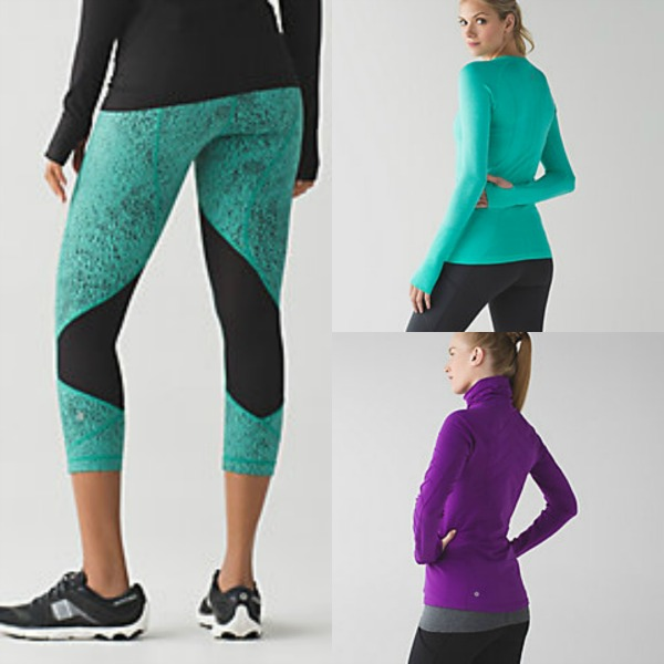 lululemon running apparel