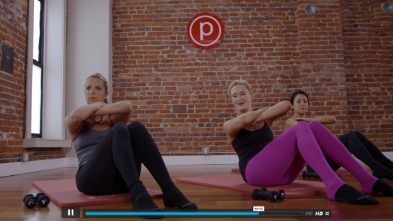 Pure Barre Pure Results with featured focus on thighs review