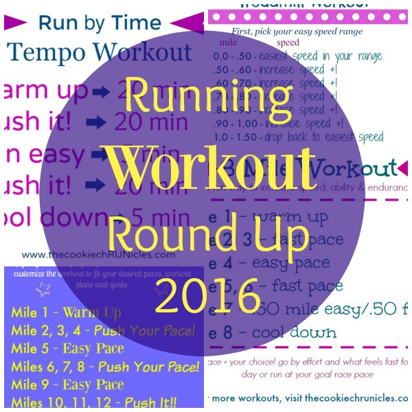 running workout round up 2016
