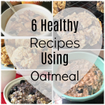 6 healthy recipes using oatmeal