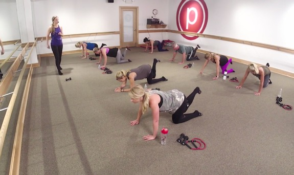 pure barre on demand seat workout