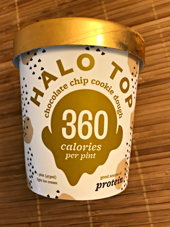 halo top chocolate chip cookie dough