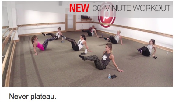 30 minute pure barre workout