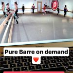 pure barre on demand thighs and seat
