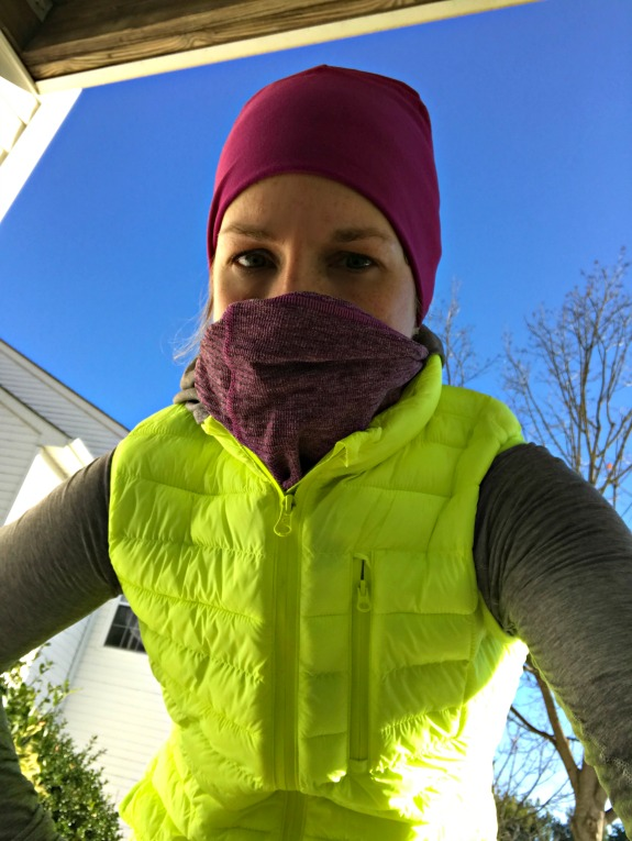 bundled up run