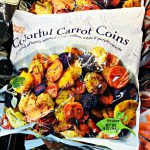 colorful carrot coins