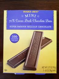 100 cal dark chocolate