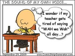 peanuts teacher