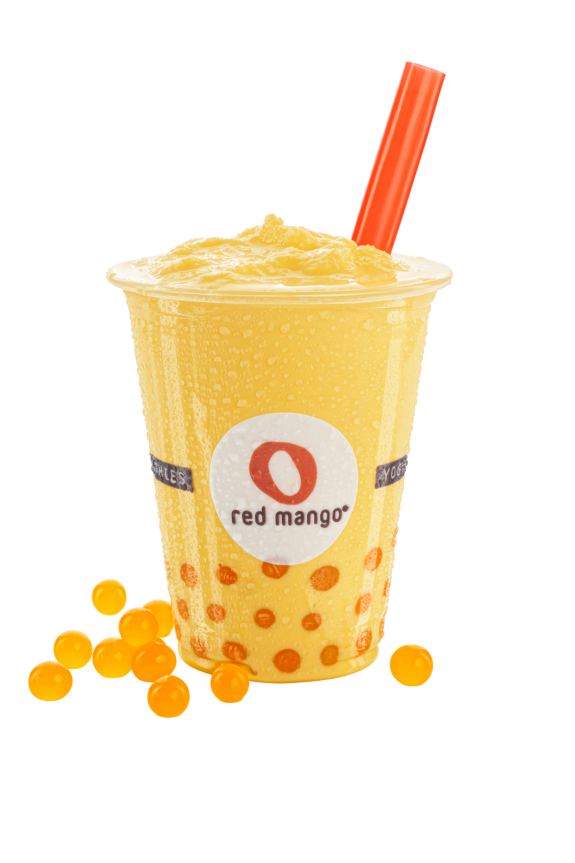 Red Mango Frozen Yogurt Smoothies!