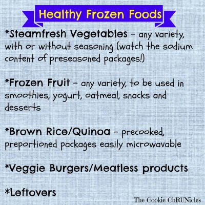 healthy frozen foods