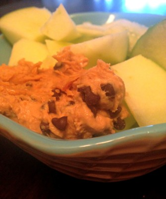 peanut butter chocolate chip dip (2)
