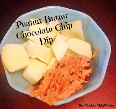 peanut butter chocolate chip dip