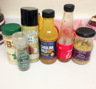 trader joe's condiments