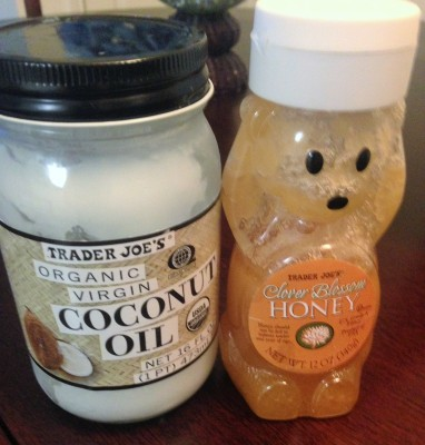 coconut oil and honey